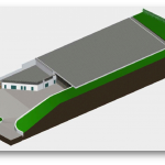 3D rendering of the STAR building